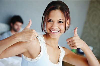 Thumbs up if you had a good night\'s rest!