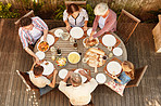 Food tastes better shared with family