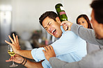Violent and volatile - Bad drinking habits