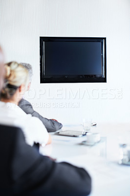 Conferencing with their clients