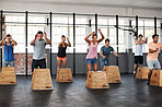 Jump right in to crossfit