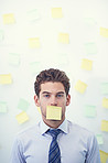 It's all sticky notes and no verbal communication