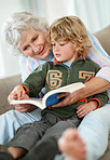 Learning to read with grandma