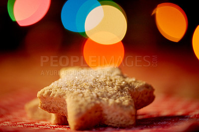 Buy stock photo Closeup shot of Christmas cookies