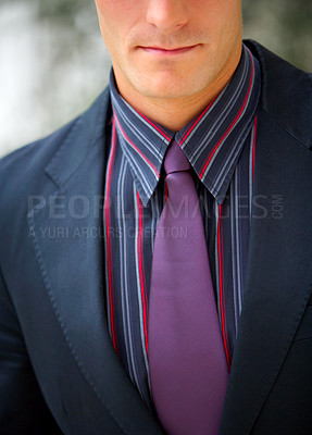 Buy stock photo European Suit and Tie.