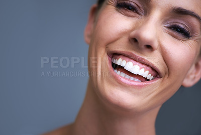 Buy stock photo A beautiful young woman in the studio