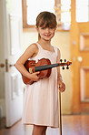 She's a gifted little violinist