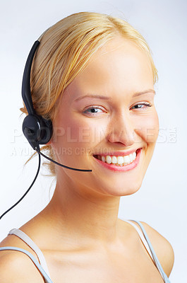 Buy stock photo How can I help you?