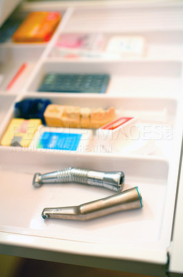 Buy stock photo Dentistry tools