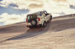 Taking on the dunes