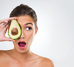 Improving my skin, one avocado at a time!