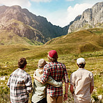 Who better to appreciate nature than with your best mates