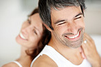 Romance and affection - our love keeps us smiling