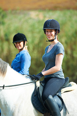 Horse riding is safe when you respect the animal