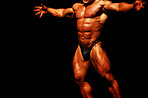 Bodybuilders - The perfect muscular form