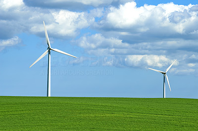 Creating energy with the wind