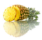 Isolated pineapple