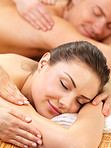 Treat yourselves to a romantic massage together