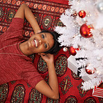 Relaxed and carefree at Christmas time