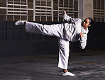 Balance and speed is key in martial arts