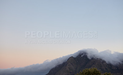 Buy stock photo Shot of the mountains of Cape Town