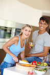 Love and laughter in the kitchen
