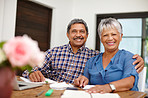 We've insured our retirement with wise financial planning