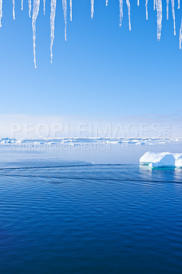 Buy stock photo Nature around the city of Ilulissat, Greenland
