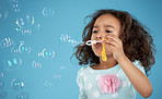 Carefree fun with bubbles