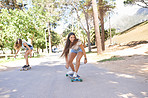 Skater girls on the move