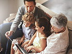 Technology bringing young and old together