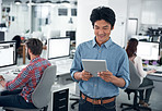 Wireless technology is perfect for a manager on the go