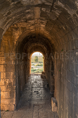 Buy stock photo Photo from Miletus. Miletus was an ancient Greek city on the western coast of Anatolia, near the mouth of the Maeander River in ancient Caria. Its ruins are located near the modern village of Balat in Aydın Province, Turkey
