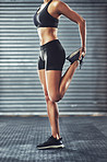 Flat abs, tight tush, killer legs!