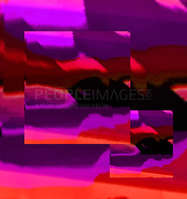 Buy stock photo Shot of a colourful abstract background