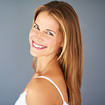 Enhancing her natural beauty with a gorgeous smile