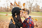 The leaves are falling and love is in the air
