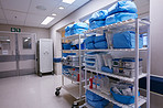 Organization is essential to running a hospital