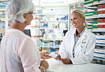 Dispensing effective medication and helpful advice