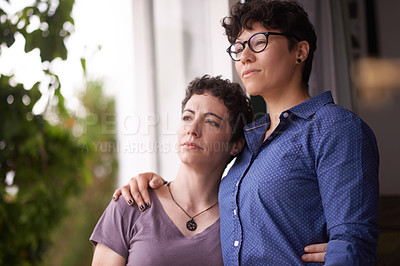 Buy stock photo Shot of a couple enjoying a leisurely day together at home