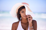 Floppy sunhat, a must-have for a bright summer's day