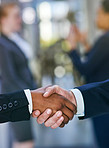 Equal partners in business