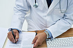 Writing a doctor's note