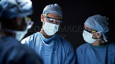 Buy stock photo Cropped shot of an operation in progress