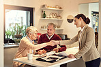 We have financial in support in our old age