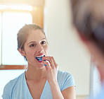 Brushing is important for healthy gums and teeth