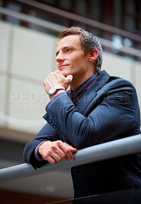Buy stock photo Portrait of a businessman