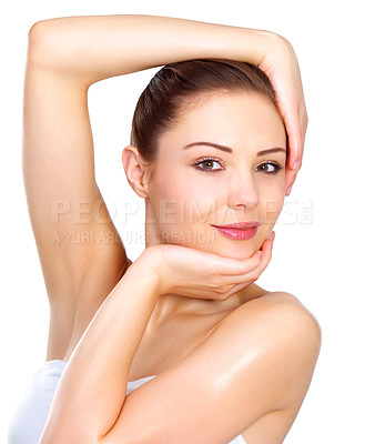 Buy stock photo Cute Face