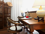 Wooden furniture suite
