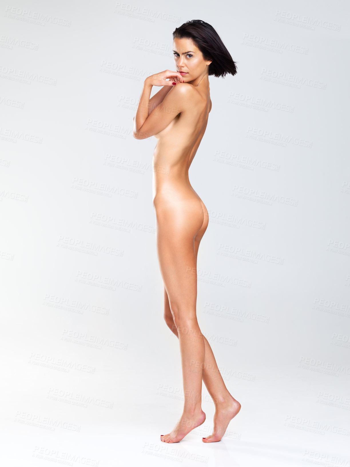 Simple, naked beauty | Buy Stock Photo on PeopleImages